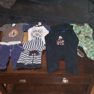 Baby Boy clothing lot 3-6 and 6 month